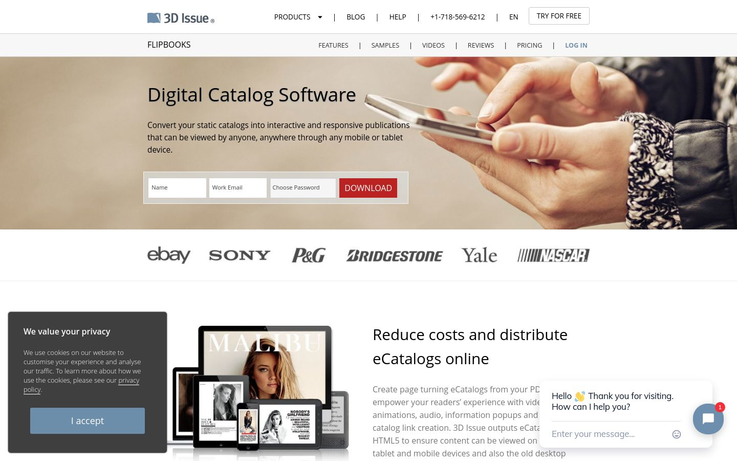 3D Issue - Catalog Software