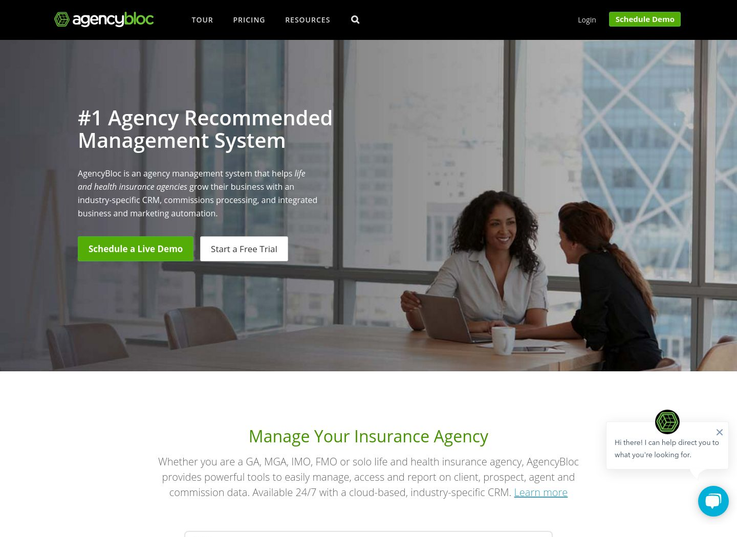 AgencyBloc - Insurance Agency Management Software