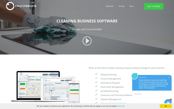 Field Complete - Cleaning Business Software