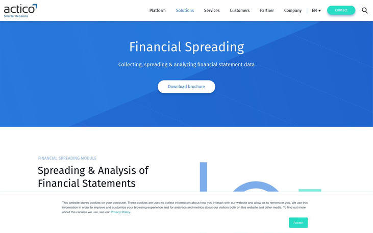 ACTICO - Financial Analytics Software