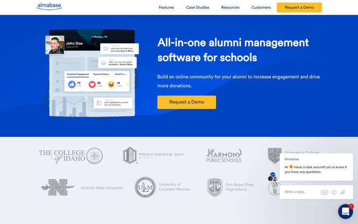 Almabase - Alumni Management Software