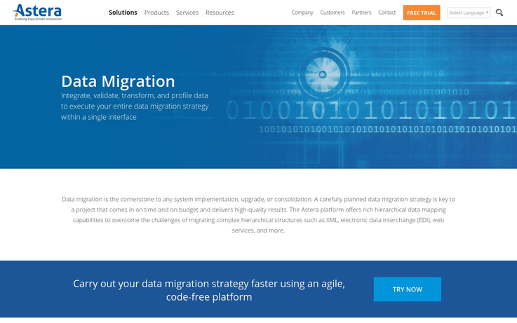 Centerprise Data Integrator - Data Migration Software