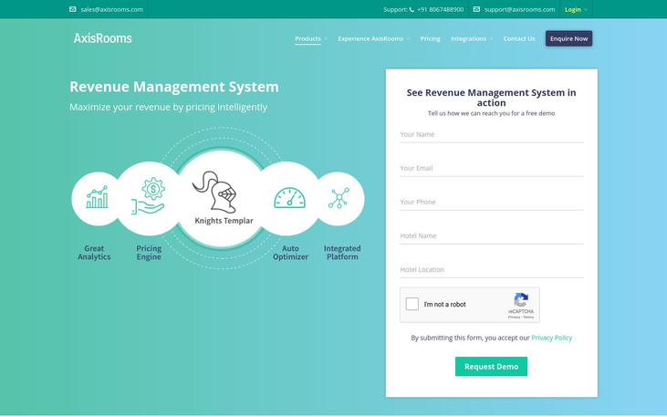 AxisRooms - Revenue Management Software