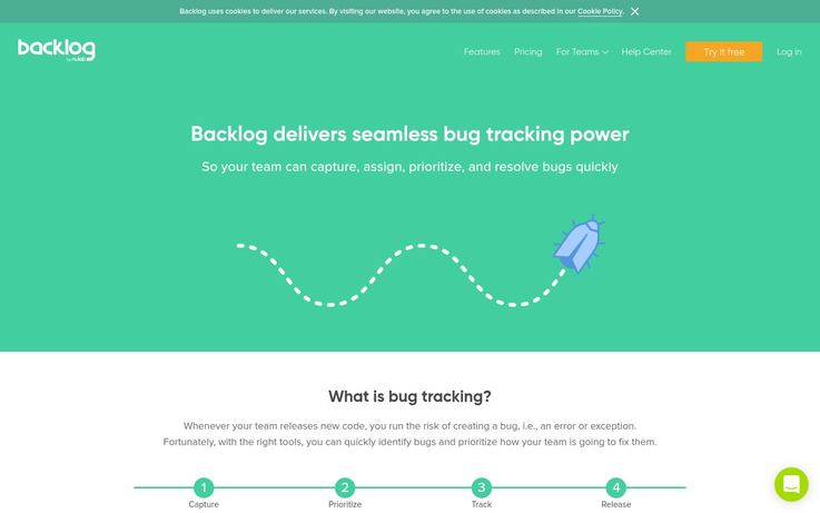 Backlog - Bug Tracking Software