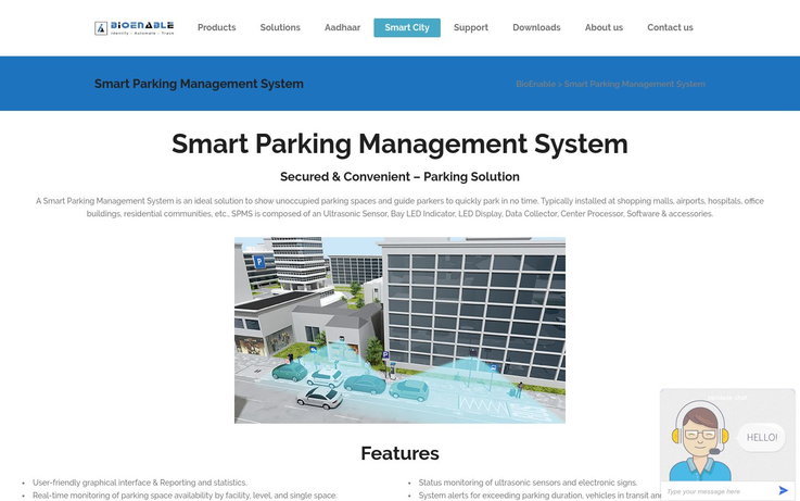 BioEnable - Parking Management Software
