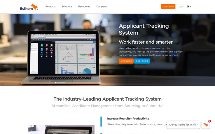 Bullhorn - Applicant Tracking Software