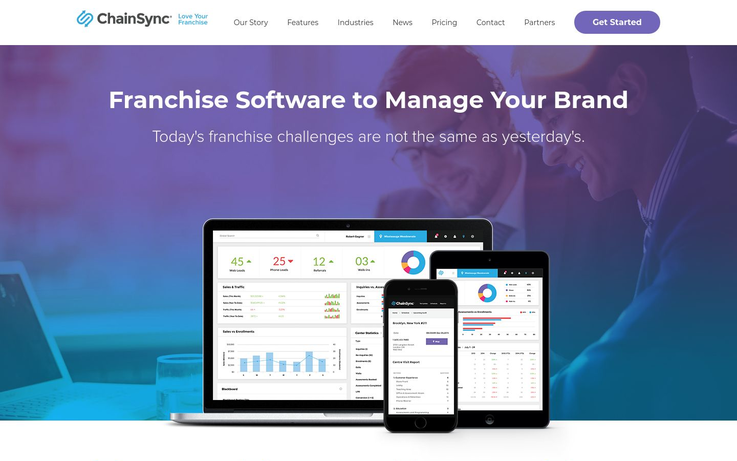 ChainSync - Franchise Management Software