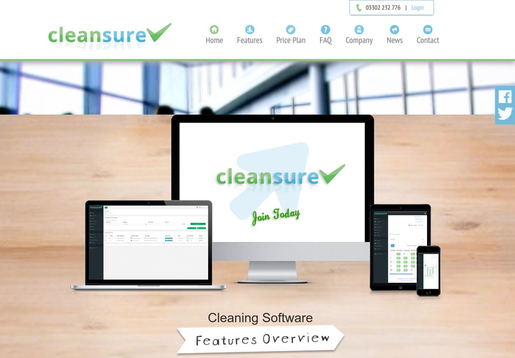 Cleansure - Cleaning Business Software