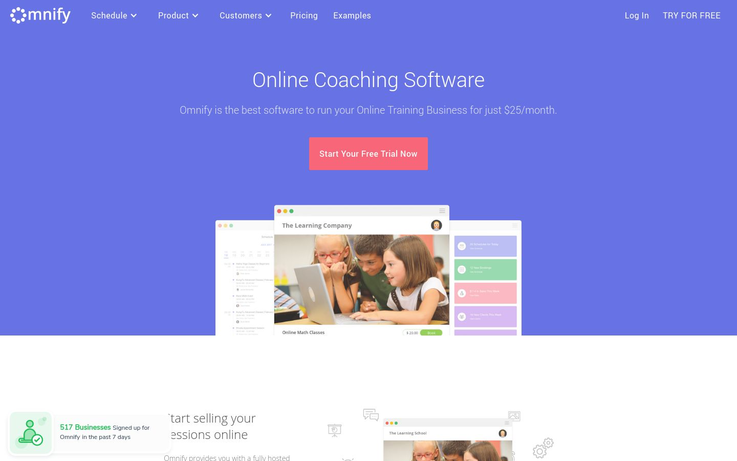 Omnify - Coaching Management Software