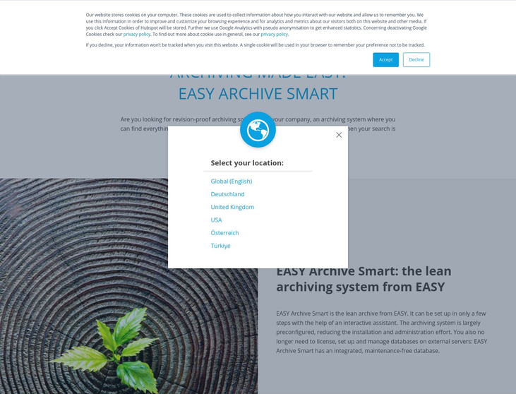 EasySoftware - Archiving Software