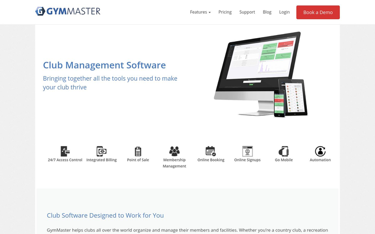 GymMaster - Club Management Software