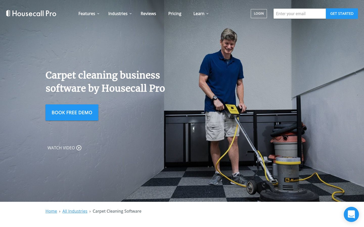 Housecall Pro - Best Carpet Cleaning Software
