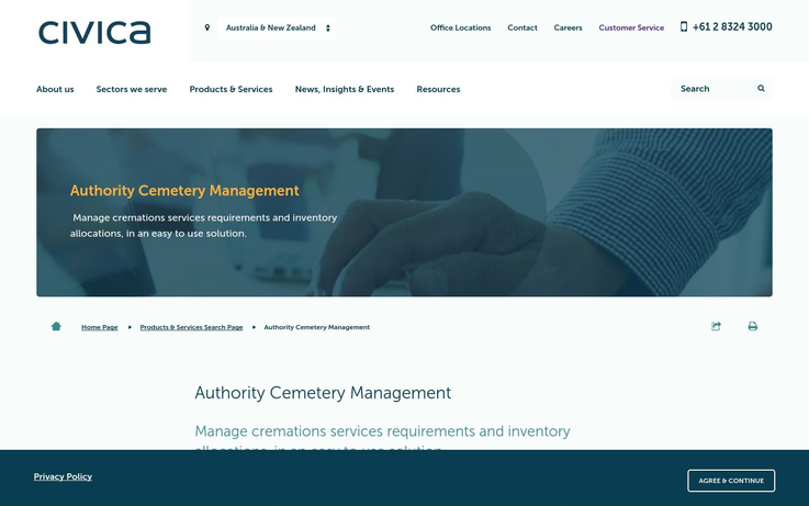 Civica-Cemetery Management Software
