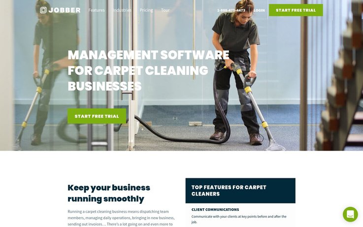Jobber - Best Carpet Cleaning Software