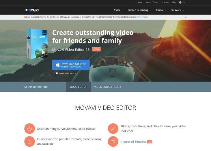Movavi - Video Editing Software
