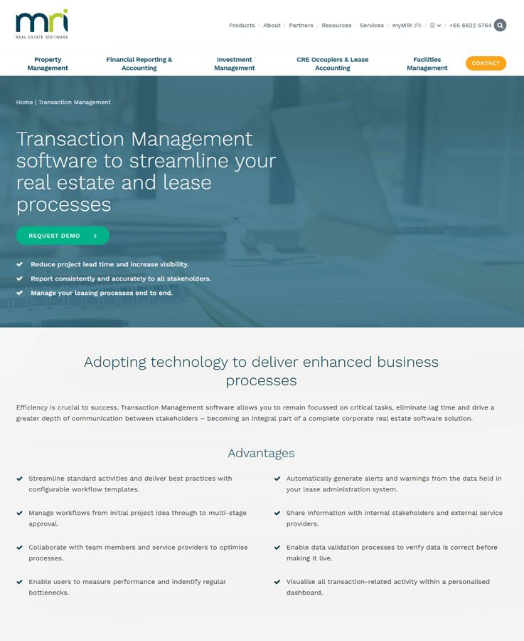 MriSoft - Real Estate Transaction Management Software