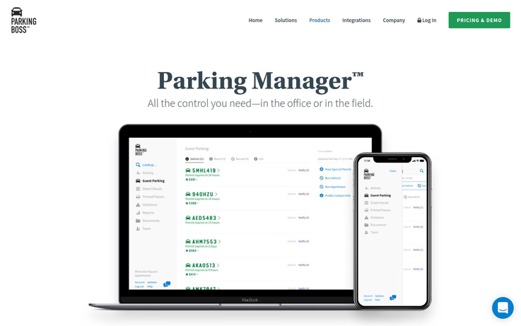 Parking Boss - Parking Management Software