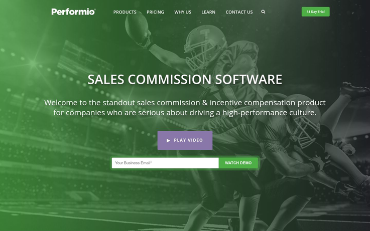 Performio - Commission Tracking Software