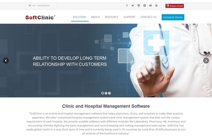 SoftClinic - Hospital Management Software