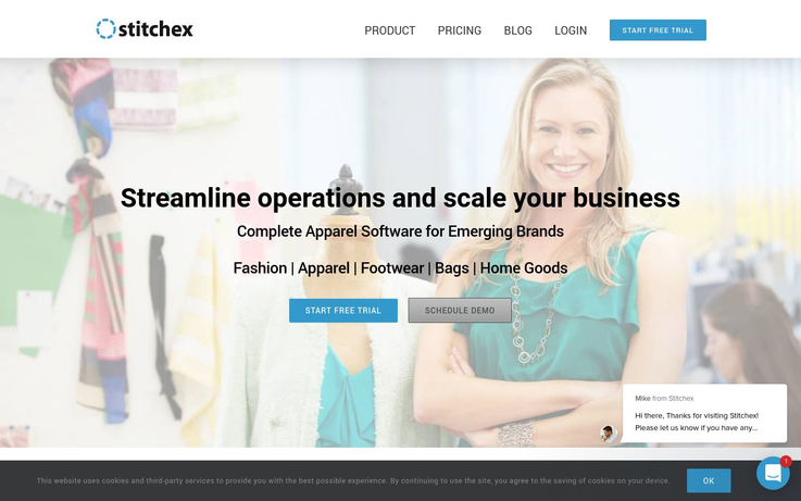 Stitchex - Apparel Management Software