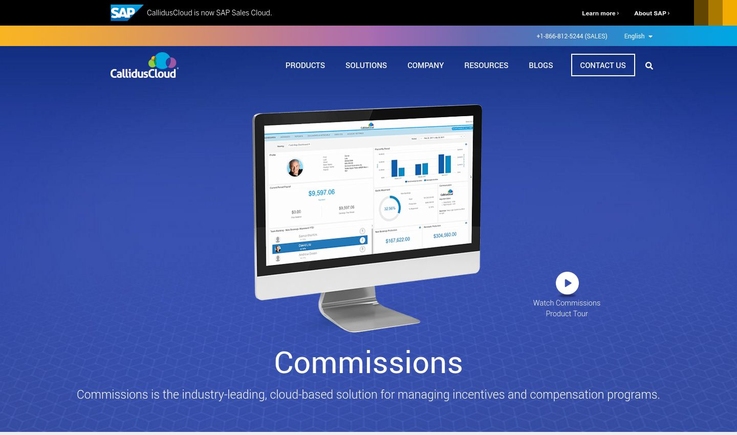 CallidusCloud - Commission Tracking Software
