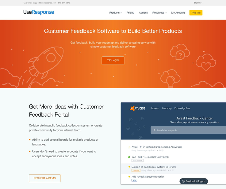 UseResponse - Customer Feedback Software