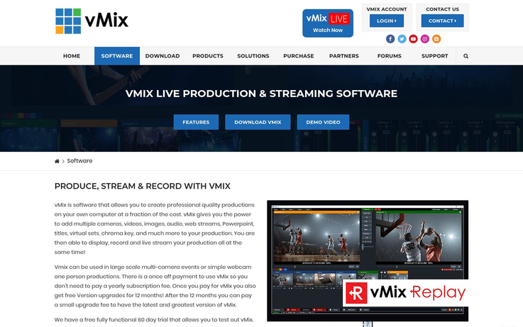 vMix - Live Streaming Software