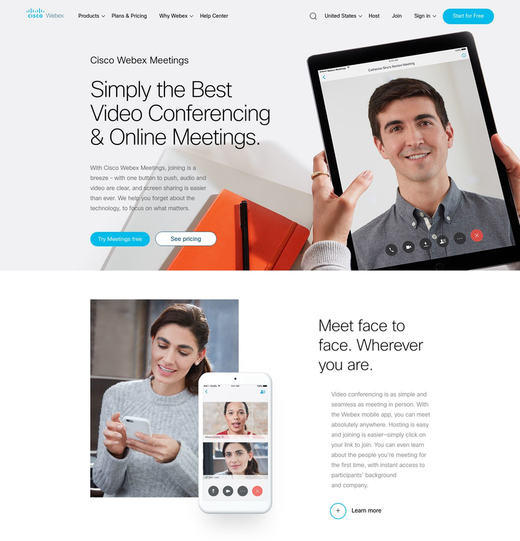 Cisco WebEx - Video Conferencing Software