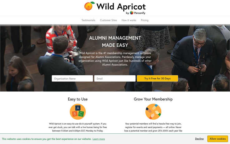 Wild Apricot - Alumni Management Software