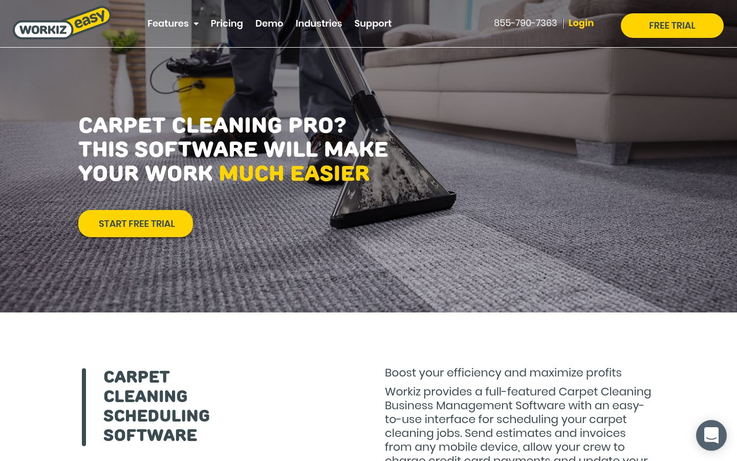 Workiz -Best Carpet Cleaning Software