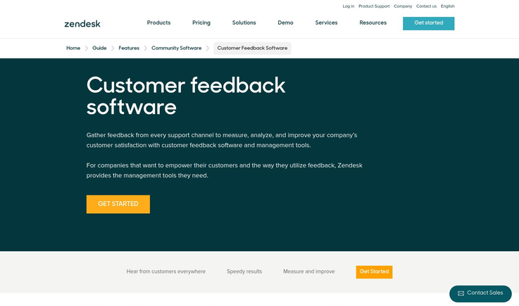 Zendesk - Customer Feedback Software