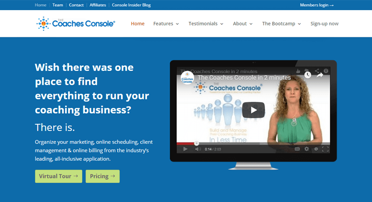 Coaches Console - Coaching Management Software