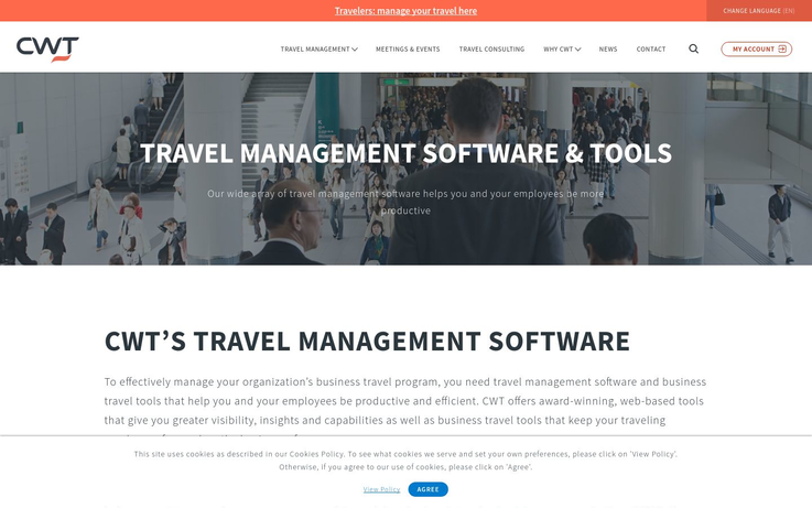 CWT - Travel Management Software
