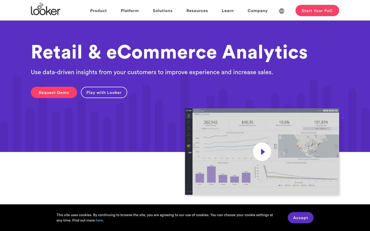 Looker - Best Retail Analytics Software