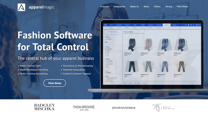 ApparelMagic - Apparel Management Software