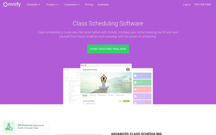 Omnify - Class Scheduling Software