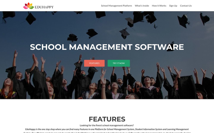 EduHappy - Student Information System Software