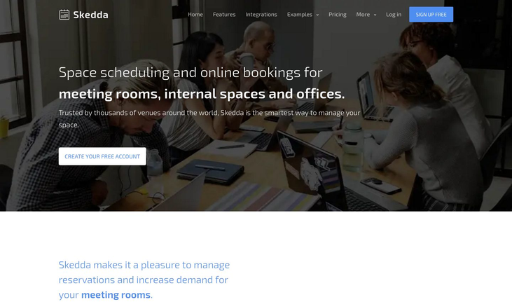 Skedda - Room Booking Software