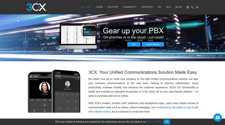 3CX - Unified Communications Software