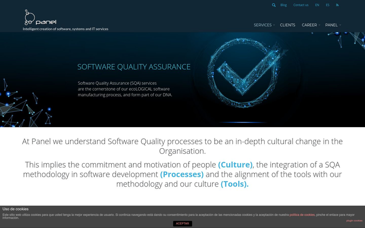 Panel Sistemas - Quality Assurance Software