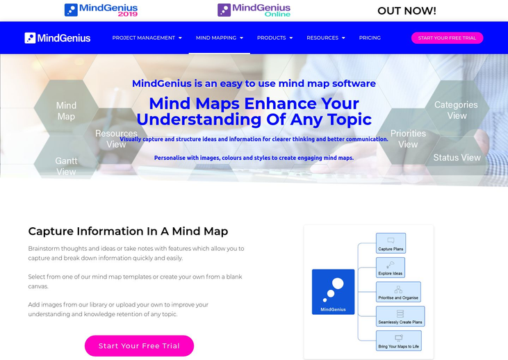 MindGenius - Mind Mapping Software