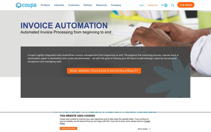 Coupa - Invoice Processing Software