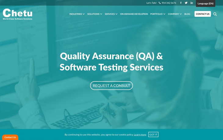 Chetu - Quality Assurance Software
