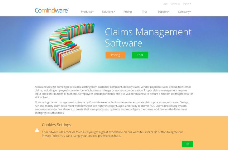 Comindware - Claims Management Software