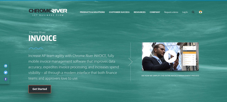 Chrome River INVOICE - Invoice Processing Software