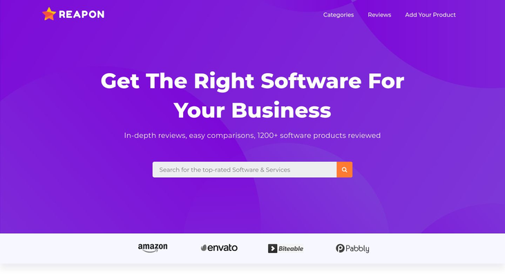 Reapon - Software Review Sites