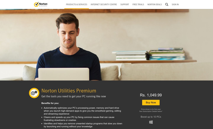 Norton Utilities - Pc Optimization Software
