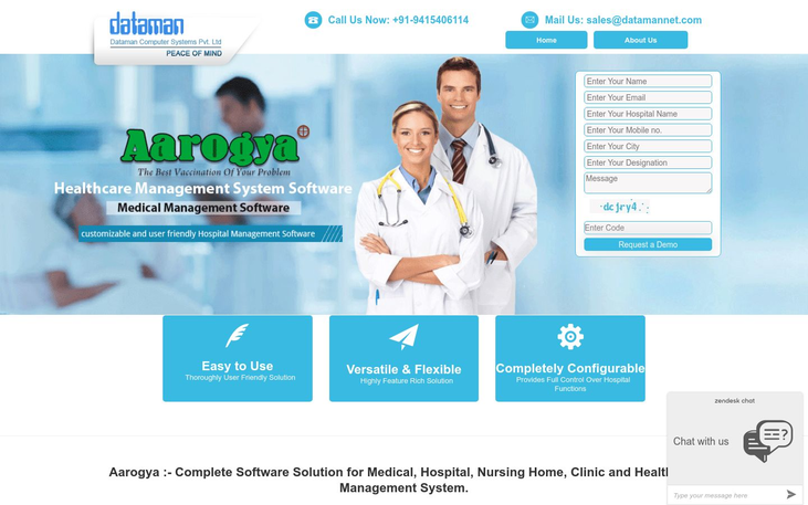 Aarogya - Patient Management Software