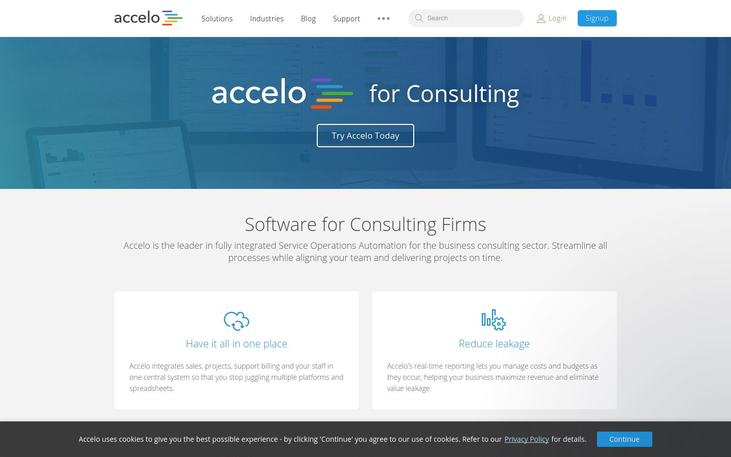 Accelo - Consulting Software