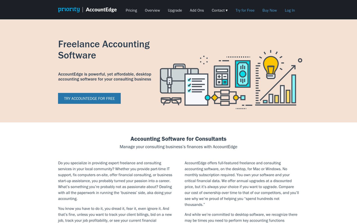AccountEdge - Freelance Accounting Software